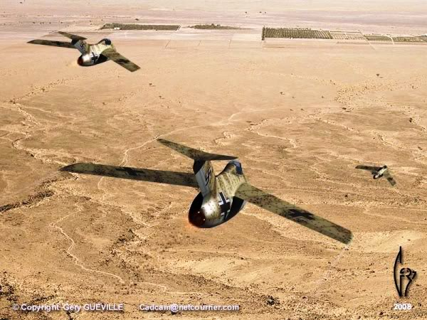 Copias descaradas de proyectos militares. Focke_wulf_fw_ta_183_once