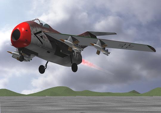 Copias descaradas de proyectos militares. Focke_wulf_fw_ta_183_treinta