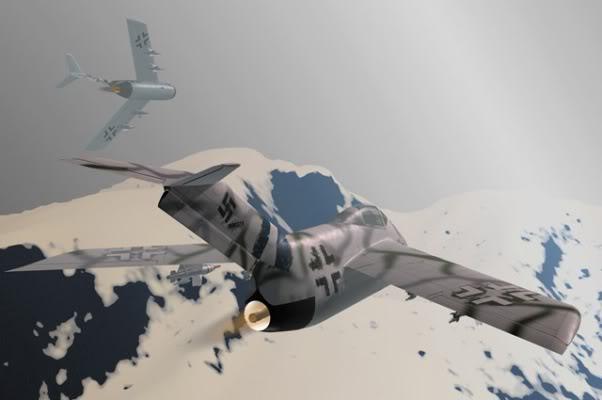 Copias descaradas de proyectos militares. Focke_wulf_fw_ta_183_treinta_y_cinc