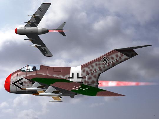Copias descaradas de proyectos militares. Focke_wulf_fw_ta_183_treinta_y_uno