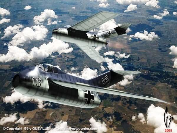 Copias descaradas de proyectos militares. Focke_wulf_fw_ta_183_tres