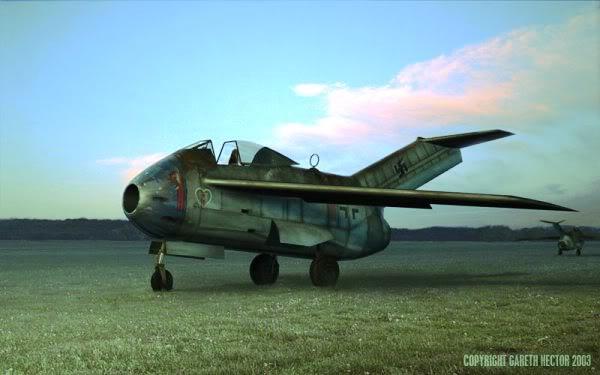 Copias descaradas de proyectos militares. Focke_wulf_fw_ta_183_veinticinco