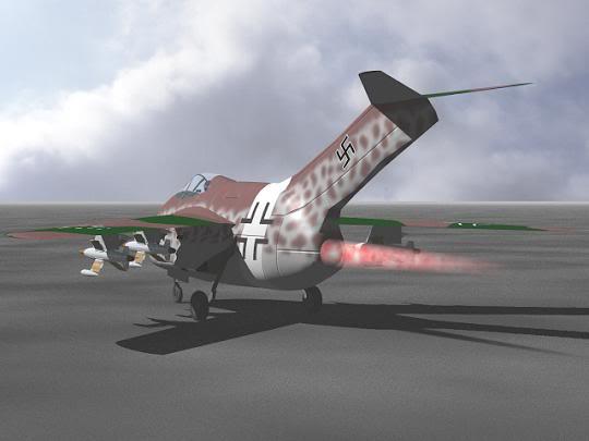 Copias descaradas de proyectos militares. Focke_wulf_fw_ta_183_veintinueve