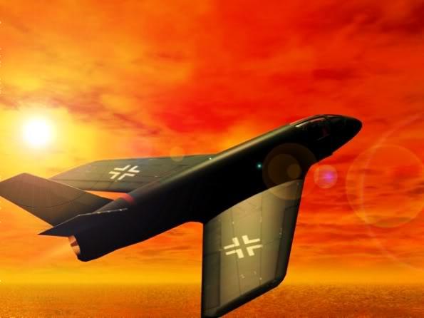 PROYECTOS INCONCLUSOS DE LA AERONÁUTICA ALEMANA DE LA S.G.M. Messerschmitt_me_P_1112_dos