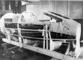 PROYECTOS INCONCLUSOS DE LA AERONÁUTICA ALEMANA DE LA S.G.M. Messerschmitt_me_P_1112_maqueta_cab