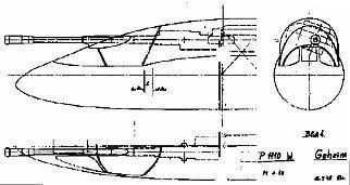 PROYECTOS INCONCLUSOS DE LA AERONÁUTICA ALEMANA DE LA S.G.M. Messerschmitt_me_P_1112_montaje_can
