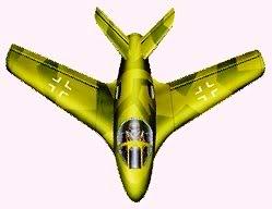 PROYECTOS INCONCLUSOS DE LA AERONÁUTICA ALEMANA DE LA S.G.M. Messerschmitt_me_P_1112_uno