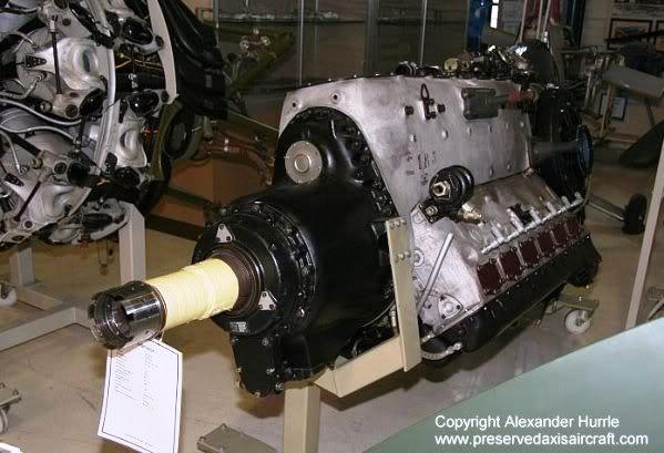 PROYECTOS INCONCLUSOS DE LA AERONÁUTICA ALEMANA DE LA S.G.M. - Página 9 Motor_daimler_benz_db_603_cuatro