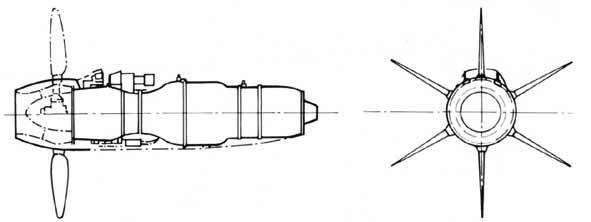 PROYECTOS INCONCLUSOS DE LA AERONÁUTICA ALEMANA DE LA S.G.M. Motor_heinkel_hirth_he_S_021_turboh