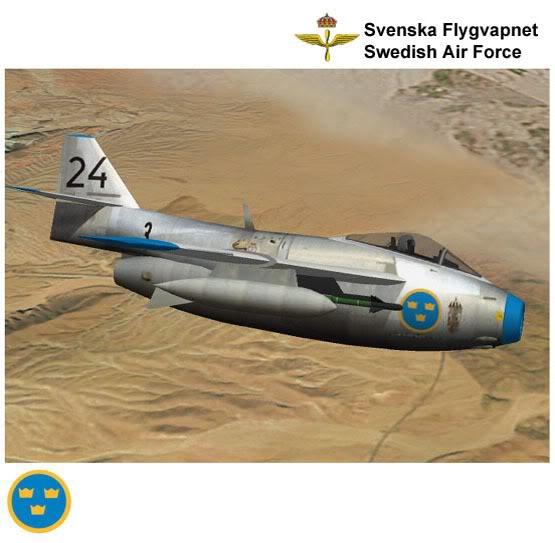 Copias descaradas de proyectos militares. Saab_29_tunnan_tres