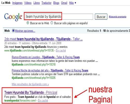 Nuestra pagina ahora la encuentras en google Teamhyundai-3
