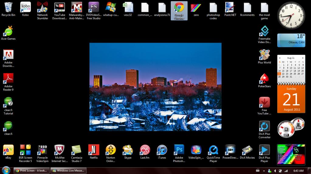 Print Screen - kako izgleda vaš Desktop? - Page 3 Myscreen