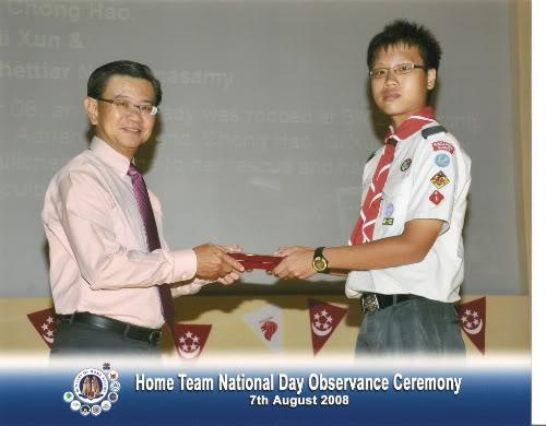 Minister of Home Affairs Award for Public Spiritedness NDOC