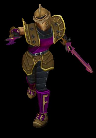 Sherwood Hero & Knight Render Render075
