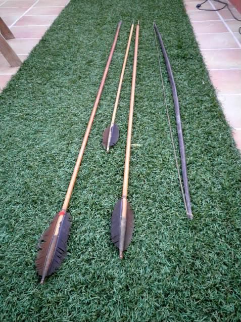 Flechas yanomamis. 051