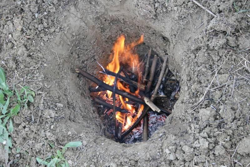 Fuego Dakota (Dakota fire hole) 1hoyo1ok
