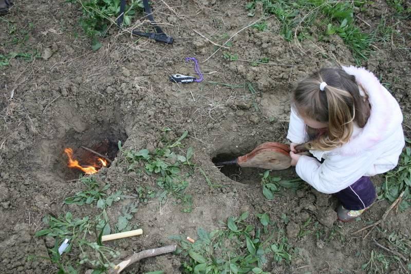 Fuego Dakota (Dakota fire hole) 4luciahoyo