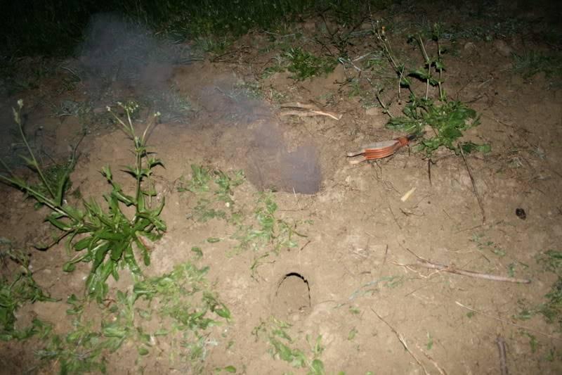 Fuego Dakota (Dakota fire hole) 7hoyonoche