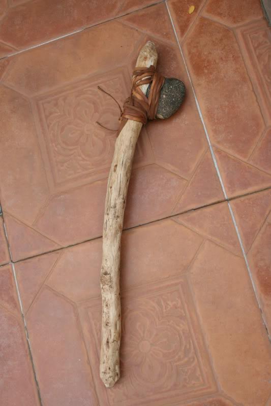 Mi primer hacha de piedra. Un par de lecciones aprendidas... IMG_5869