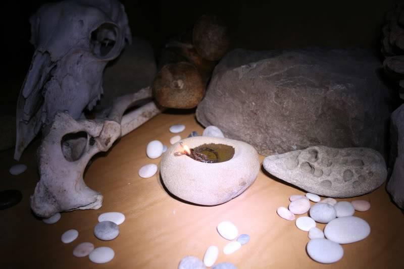 Pequeña lámpara de piedra IMG_5905