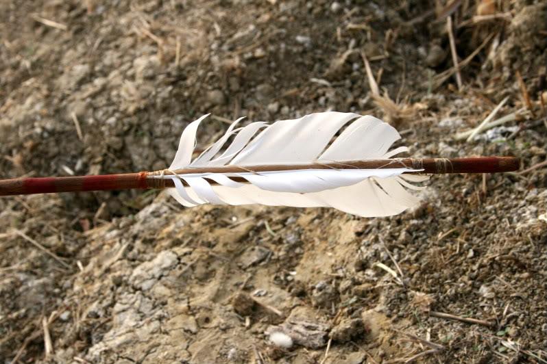 Flecha con punta de sílex. IMG_8241