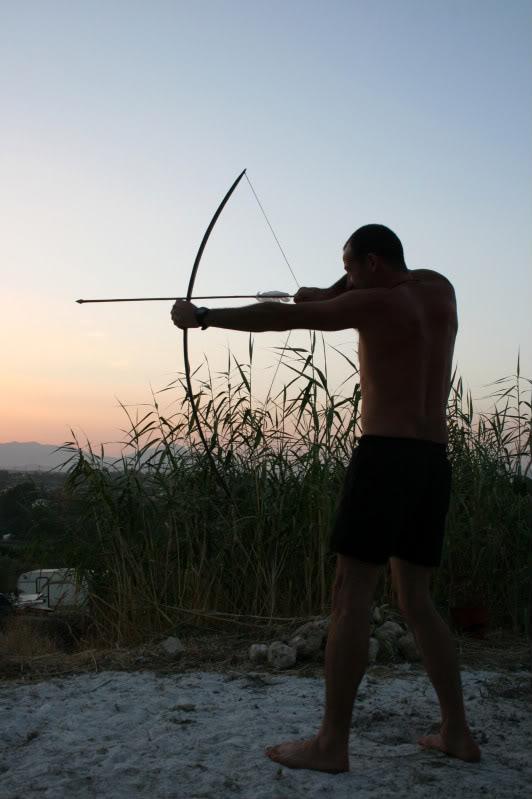 Flecha con punta de sílex. IMG_8267
