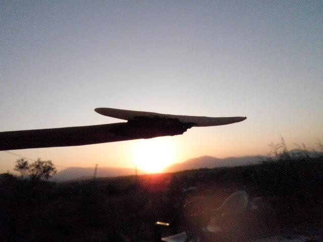 Punta de flecha de inspiración yanomami P8140048