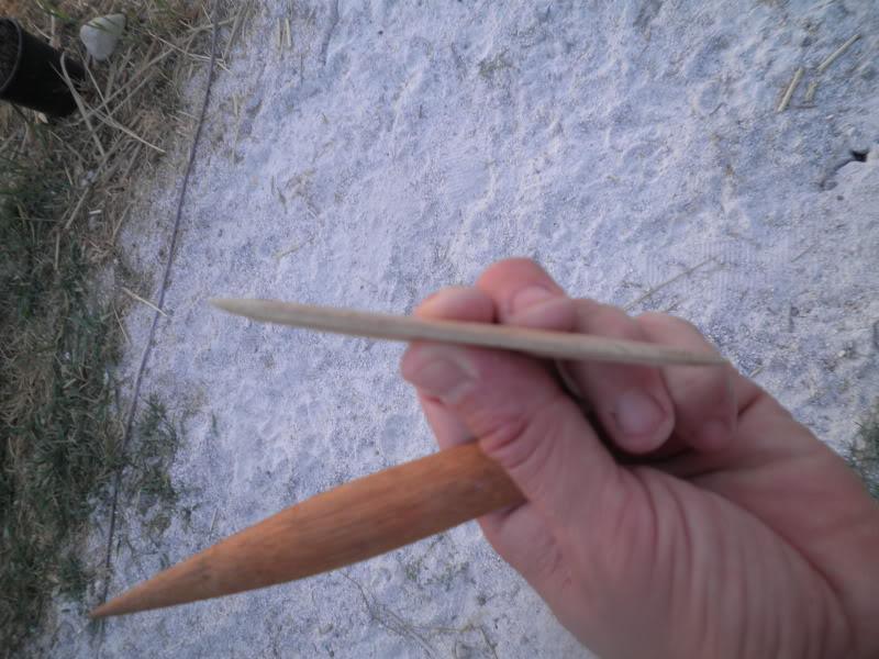Punta de flecha de inspiración yanomami 2 P9020017