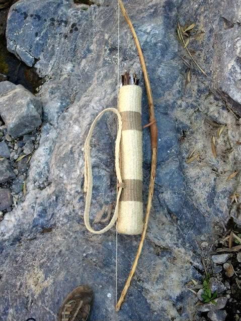 Carcaj hecho con cuerda. Orlaanaconda1285