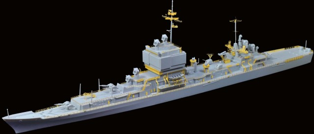 1/700 U.S.S Long Beach CGN-9 for Dragon from flyhawkmodel 1a