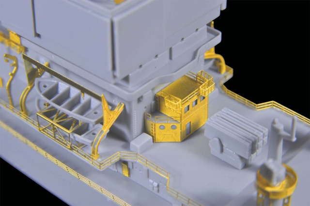 1/700 U.S.S Long Beach CGN-9 for Dragon from flyhawkmodel 2-3