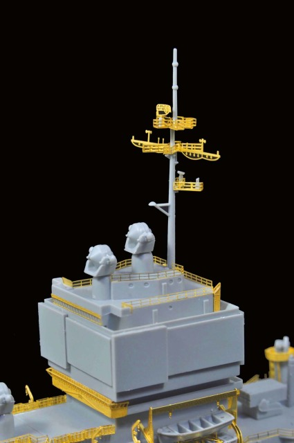 1/700 U.S.S Long Beach CGN-9 for Dragon from flyhawkmodel 3-3