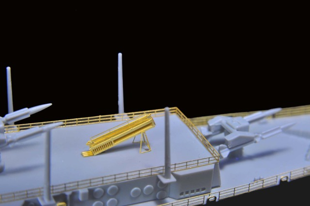 1/700 U.S.S Long Beach CGN-9 for Dragon from flyhawkmodel 6-2