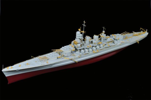WWII Italian Navy Battleship Roma DSC_0223