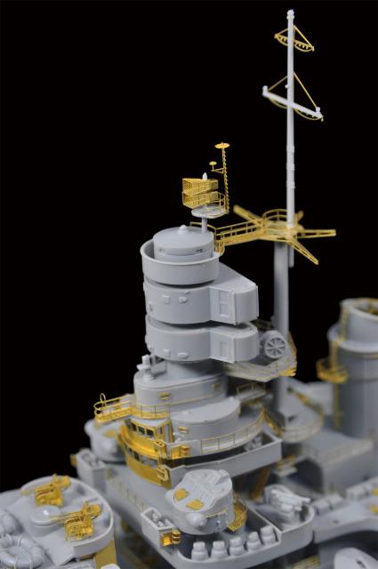WWII Italian Navy Battleship Roma DSC_0226