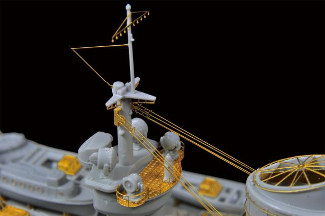WWII Italian Navy Battleship Roma DSC_0235