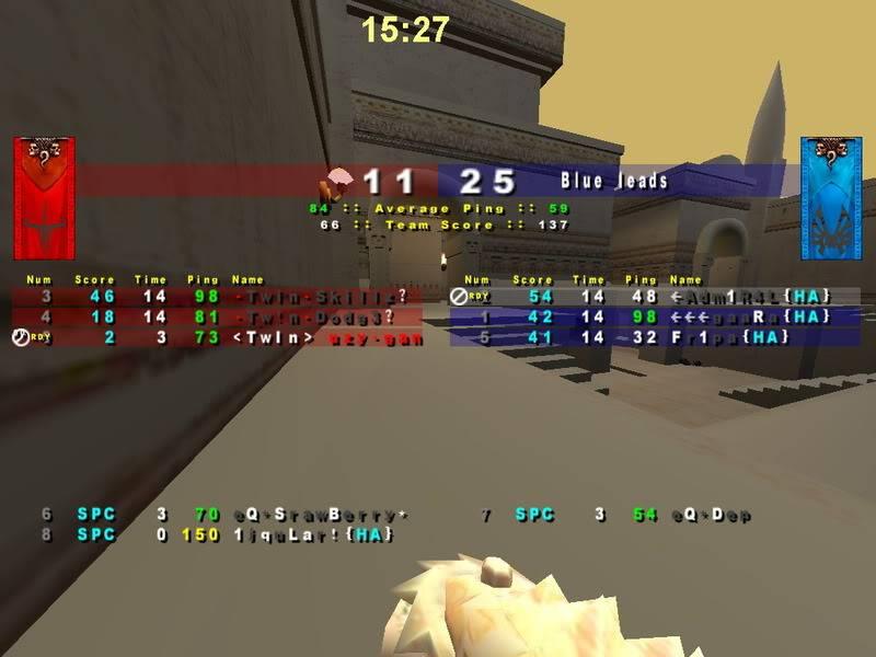 {HA} vs TWIN (3-0) Hab