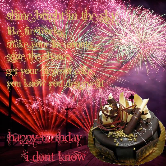 """If you want to say """"HaPpY Birthday To YoU,,, Get in &gt - Page 8 Happybday"""
