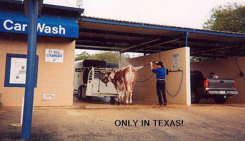 Only in Here!!! Texas