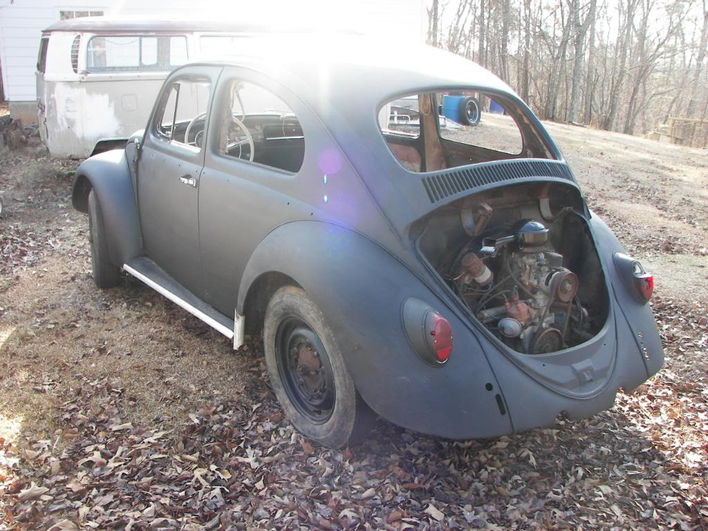 my new quest! 1963 beetle aka Mabeline Mabeline004