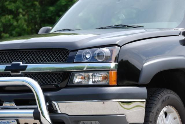 SOLD!!!!  NEW! ICPW Halo Projector Headlights(pair) 06-01-09002