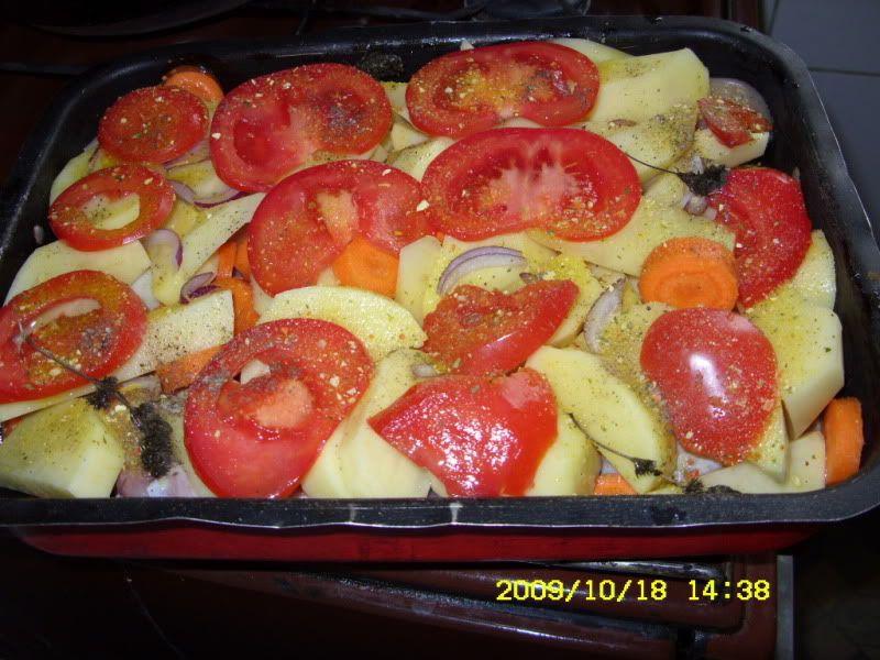 pui la cuptor cu legume SDC12050
