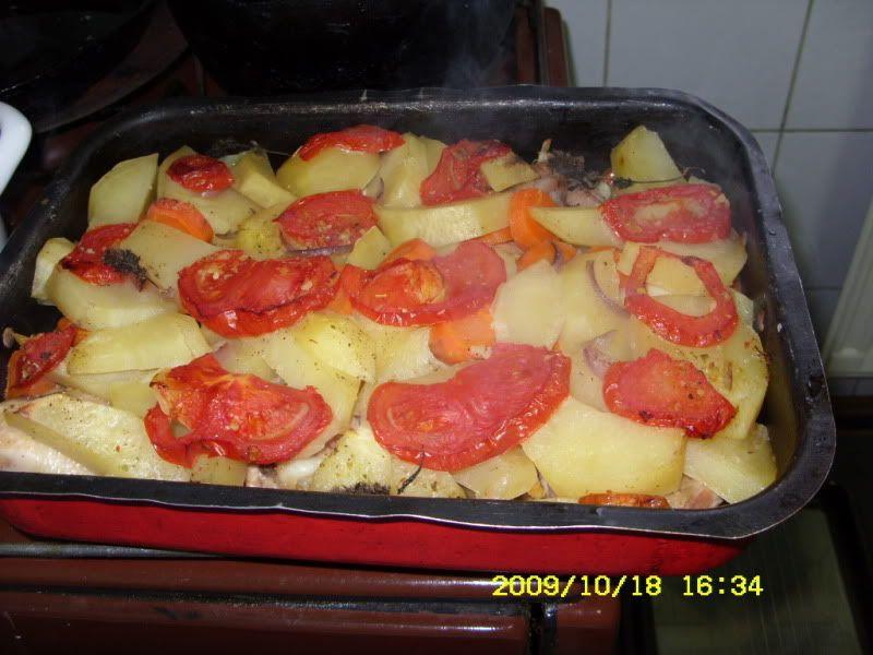 pui la cuptor cu legume SDC12055