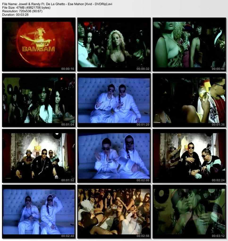 Jowell y Randy Ft. De La Ghetto - Ese Mahon [Xvid-DVDRip] Esemahon