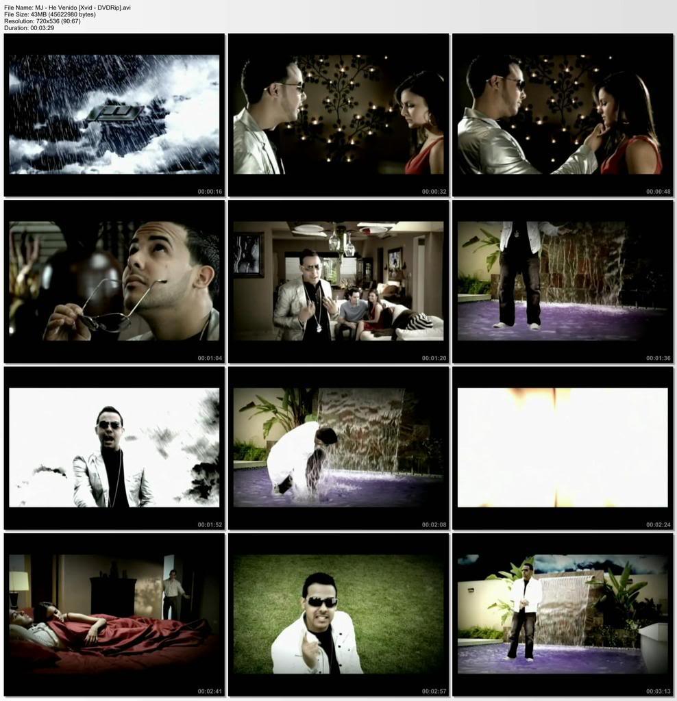 MJ-He Venido [Xvid-DVDRip] Mj