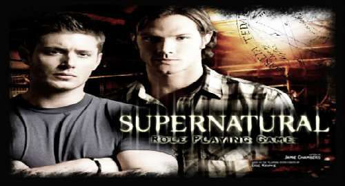 SUPERNATURAL ROLE PLAYING GAME FORO