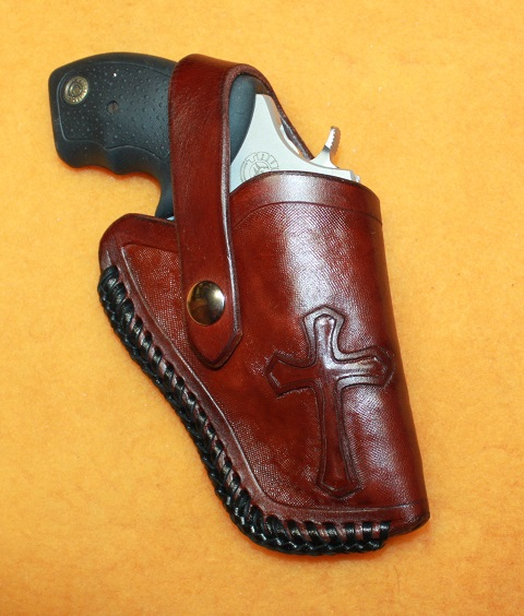 Holster with Cross Carved on it. IMG_8747R_zps9fb8d56c