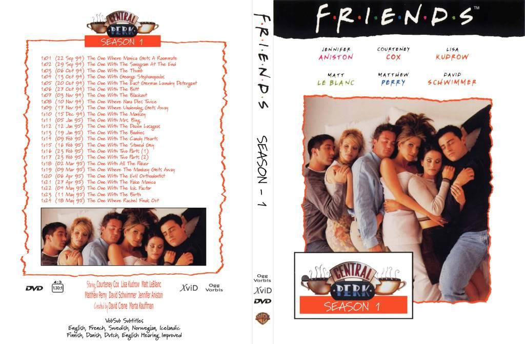 All About Friends FriendsSeason1