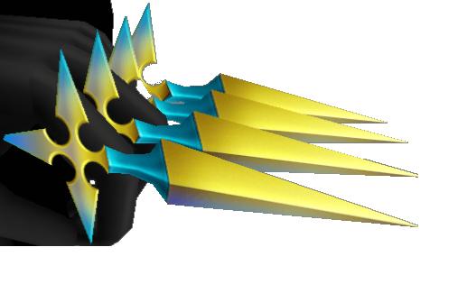 Larxene ✓ LarxenesKnives-ShockCharms