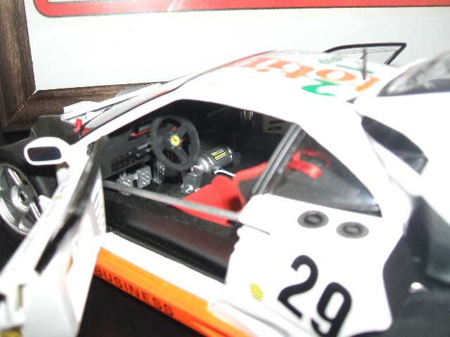 FERRARI F40 GT1 LE MANS  DSCF3720
